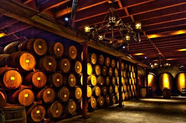 barrels store room